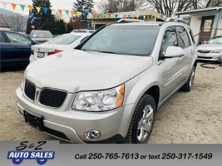 Used 2008 Pontiac Torrent Special edition for sale in Kelowna, BC