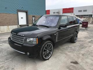 Used 2011 Land Rover Range Rover Autobiography SC for sale in St-Eustache, QC