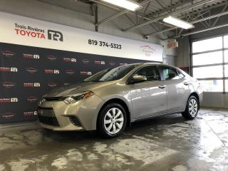 Used 2015 Toyota Corolla #LE - A/C - Gr. élect. - Cruise for sale in Trois-Rivières, QC