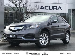 Used 2018 Acura RDX Tech at AWD, Navi, Backup Cam, Heated Seats for sale in Markham, ON