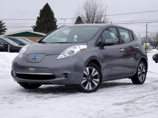 Used 2016 Nissan Leaf SV + NAVI + CAMÉRA + 30 KWH + CHARGE RAP for sale in Magog, QC