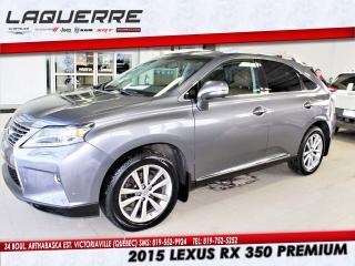 Used 2015 Lexus RX 350 PREMIUM for sale in Victoriaville, QC