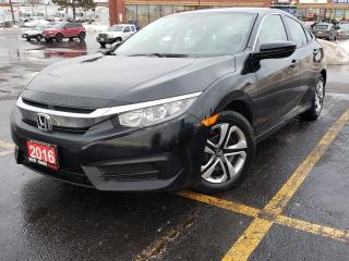 Used 2016 Honda Civic Sedan 4dr CVT LX for sale in Scarborough, ON