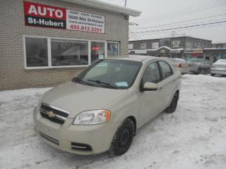 Used 2009 Chevrolet Aveo LS for sale in St-Hubert, QC