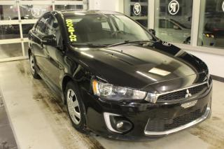 Used 2016 Mitsubishi Lancer Sportback ÉDITION LIMITED CVT *CAMÉRA-TO for sale in Lévis, QC