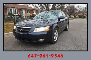 Used 2006 Hyundai Sonata 4dr Sdn GL 3.3L Auto for sale in Mississauga, ON