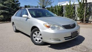Used 2002 Toyota Camry 4dr Sdn for sale in Scarborough, ON