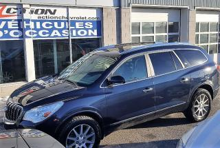 Used 2016 Buick Enclave Cuir,awd,nav,client for sale in St-Hubert, QC