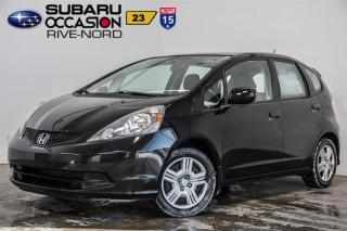 Used 2014 Honda Fit LX BLUETOOTH+A/C for sale in Boisbriand, QC