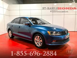 Used 2015 Volkswagen Jetta TRENDLINE+ TDI + MAGS + CRUISE + WOW !!! for sale in St-Basile-le-Grand, QC