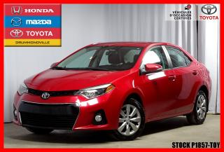 Used 2016 Toyota Corolla S Intérieur Noir for sale in Drummondville, QC