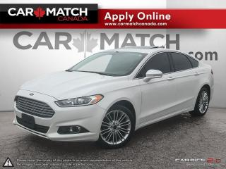 Used 2014 Ford Fusion SE / AWD / LEATHER / NAV / ROOF for sale in Cambridge, ON