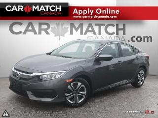 Used 2018 Honda Civic LX / *AUTO* / NO ACCIDENTS for sale in Cambridge, ON
