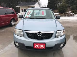 Used 2008 Mazda Tribute for sale in Oro Medonte, ON