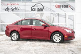 Used 2012 Chevrolet Cruze LT turbo ***MACANIQUE A1*** for sale in Québec, QC