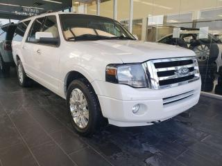 Used 2013 Ford Expedition Max LIMITED, HEATED/COOLED SEATS, NAVIGATION, REAR VIEW CAMERA for sale in Edmonton, AB