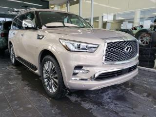 New 2019 Infiniti QX80 8 PASSENGER W/ PROACTIVE PACKAGE for sale in Edmonton, AB