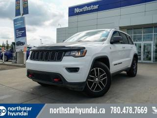 Used 2017 Jeep Grand Cherokee TRAILHAWK/NAPPALEATHER/NAV/POWERLIFT for sale in Edmonton, AB