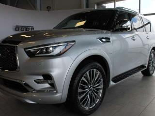 Used 2019 Infiniti QX80 8-PASSENGER/PRO ACTIVE for sale in Edmonton, AB