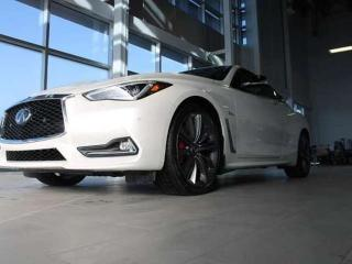 Used 2019 Infiniti Q60 EXECUTIVE DEMO/RED SPORT 400 PRO ACTIVE for sale in Edmonton, AB