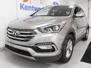 Used 2018 Hyundai Santa Fe Sport AWD with heated power seats and a back up cam for sale in Edmonton, AB