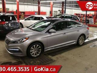 Used 2016 Hyundai Sonata SPORT TECH; KEYLESS ENTRY, BLUETOOTH, CRUISE CONTROL, SUNROOF AND MORE for sale in Edmonton, AB