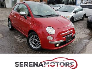 Used 2013 Fiat 500 LOUNGE | FULLY LOADED | ONE OWNER | NO ACCIDENTS for sale in Mississauga, ON