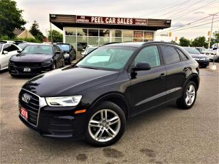 Used 2016 Audi Q3 Premium Plus KOMFORT|PANOROOF |CERTIFIED |PANOROOF|HEATEDSEATS|CERTIFIED AND MUCH MORE! for sale in Mississauga, ON