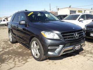 Used 2013 Mercedes-Benz ML-Class ML 350 BlueTEC NAVIGATION PANORAMIC SUN ROOF for sale in Oakville, ON
