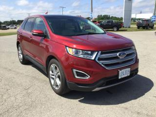 Used 2015 Ford Edge Titanium | AWD | One Owner | Navigation for sale in Harriston, ON