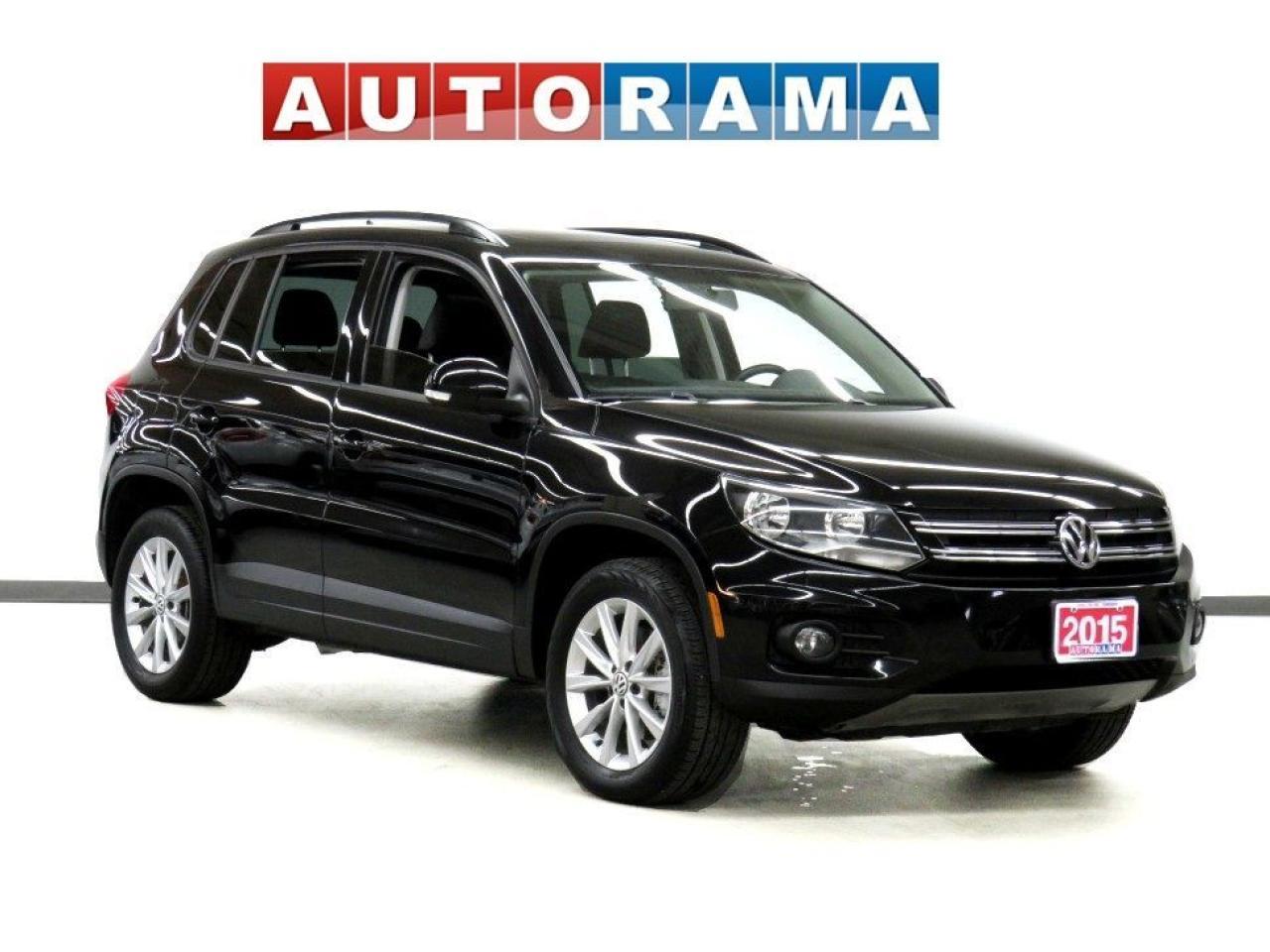 2015 Volkswagen Tiguan COMFORTLINE LEATHER PANORAMIC SUNROOF AWD