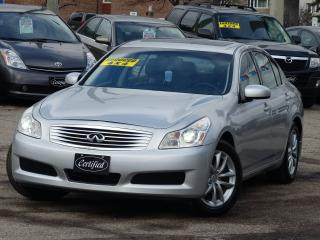 Used 2008 Infiniti G35 AWD, NAVIGATION, BACK UP CAM, BLUETOOTH, LEATHER for sale in Mississauga, ON