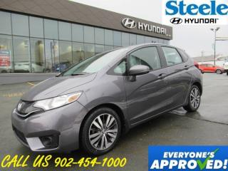Used 2015 Honda Fit EX-L Navigation Leather Sunroof Backup camera LOADED! for sale in Halifax, NS