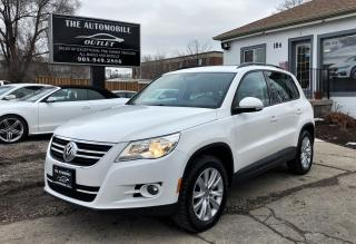 Used 2011 Volkswagen Tiguan PANO ROOF LEATHER NO ACCIDENT for sale in Mississauga, ON