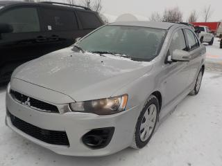 Used 2016 Mitsubishi Lancer for sale in Innisfil, ON