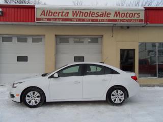 Used 2016 Chevrolet Cruze LT for sale in Edmonton, AB