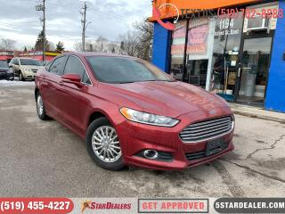 Used 2016 Ford Fusion SE | AWD | NAV | LEATHER | ROOF | TECH PACKAGE for sale in London, ON