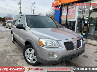 Used 2008 Pontiac Montana Sv6 AUTO LOANS FOR ALL CREDIT SITAUTIONS for sale in London, ON