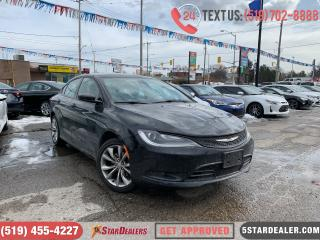 Used 2015 Chrysler 200 S | LEATHER | POWER SEATS for sale in London, ON