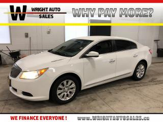 Used 2013 Buick LaCrosse |BLUETOOTH|ALLOY RIMS|POWER SEATS|99,125 KM for sale in Cambridge, ON