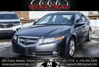 Used 2008 Acura TL w/NAVI back up cam Pkg for sale in Etobicoke, ON