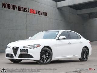 Used 2017 Alfa Romeo Giulia Sport Q4 Ribelle Edizione*P-Roof*Drk Turbine Whls for sale in Mississauga, ON
