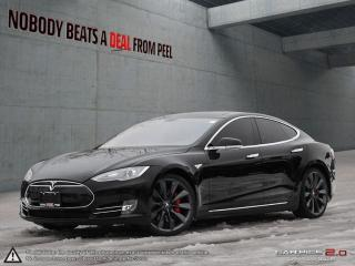 Used 2013 Tesla Model S P85 Smart Suspension, 4G, 21Whls, Roof, Crazy Fast EV for sale in Mississauga, ON
