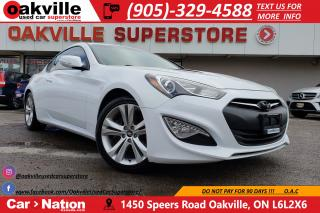 Used 2015 Hyundai Genesis Coupe 3.8 PREMIUM | NAV | LEATHER | HTD SEATS | SUNROOF for sale in Oakville, ON