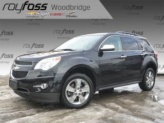 Used 2013 Chevrolet Equinox 2LT SUNROOF, LEATHER, NAV, LOADED! for sale in Woodbridge, ON
