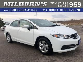 Used 2015 Honda Civic LX for sale in Guelph, ON