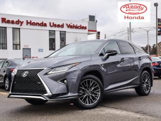 Used 2016 Lexus RX 350 F-Sport Series 2 - Navigation - Leather - Sunroof for sale in Mississauga, ON