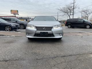 Used 2014 Lexus ES 350 LOADED ES300, HEATED COOLED SEATS, HEATED WHEEL, NAVI, CAM for sale in North York, ON