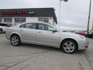 Used 2008 Saturn Aura XE AUTOMATIC ALLOYS CERTIFIED 2YR WARRANTY for sale in Milton, ON