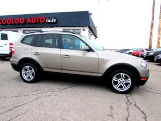 Used 2007 BMW X3 3.0L AWD LEATHER PANORAMIC CERTIFIED 2YR WARRANTY for sale in Milton, ON